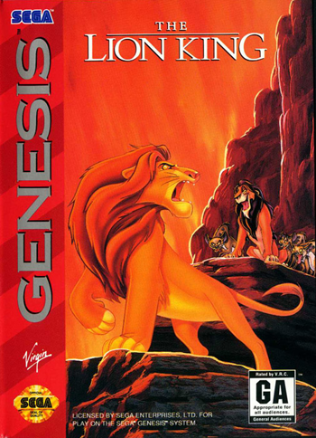 Lion King, The  cover artwork