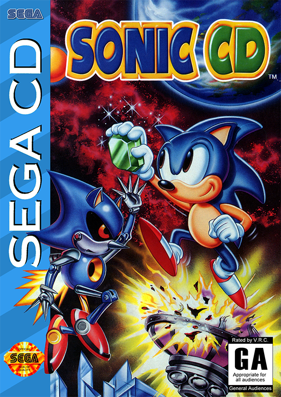 Sonic CD  cover artwork