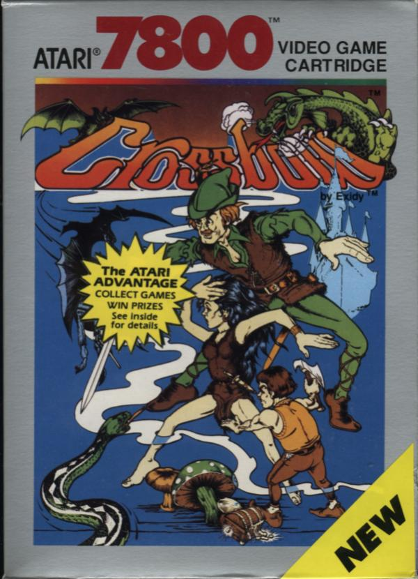Crossbow Atari 7800 cover artwork