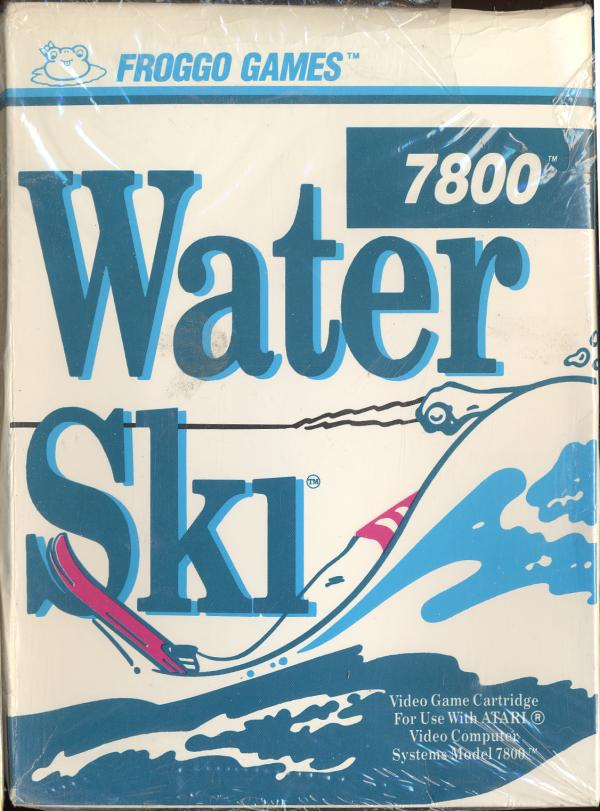 Water Ski Atari 7800 cover artwork
