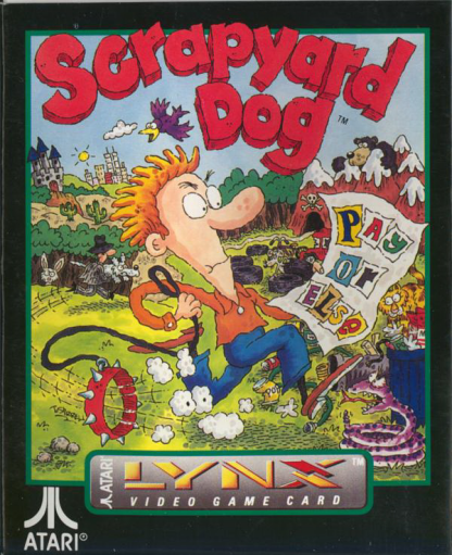 Scrapyard Dog Atari Lynx cover artwork