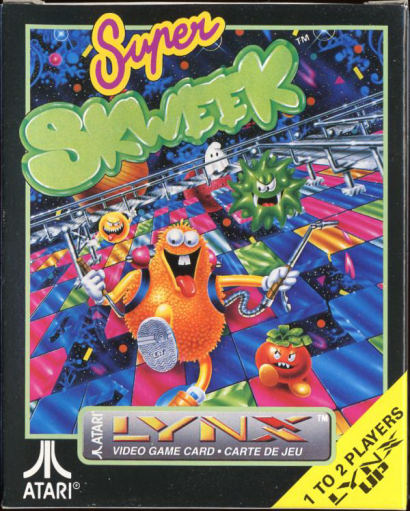 Super Skweek Atari Lynx cover artwork