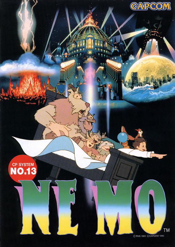 Nemo Capcom CPS 1 cover artwork