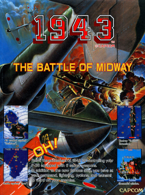 1943 Coin Op Arcade cover artwork