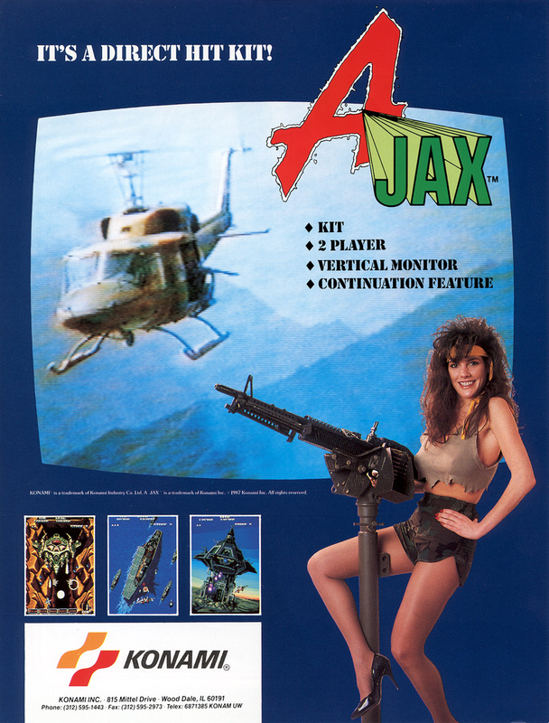 Ajax Coin Op Arcade cover artwork