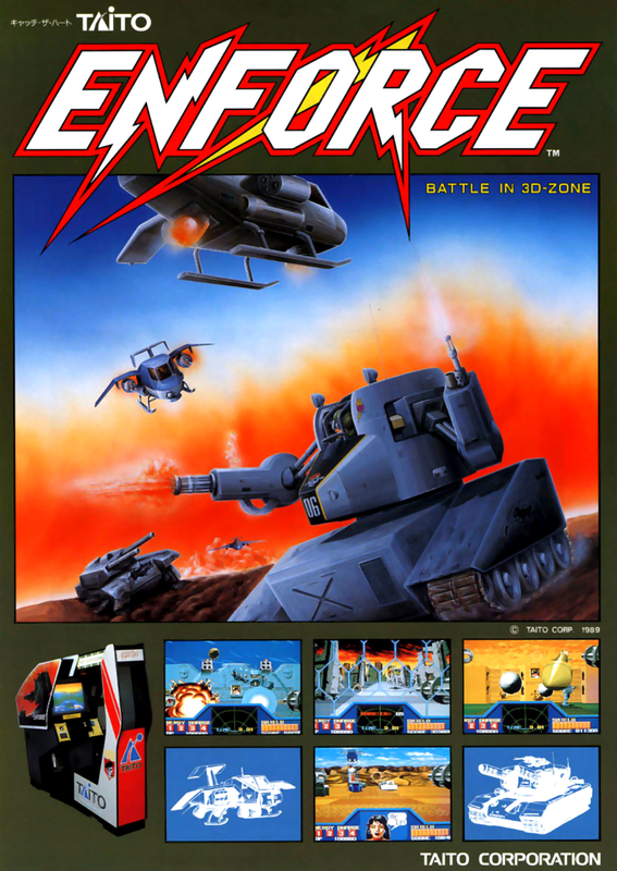 Enforce Coin Op Arcade cover artwork