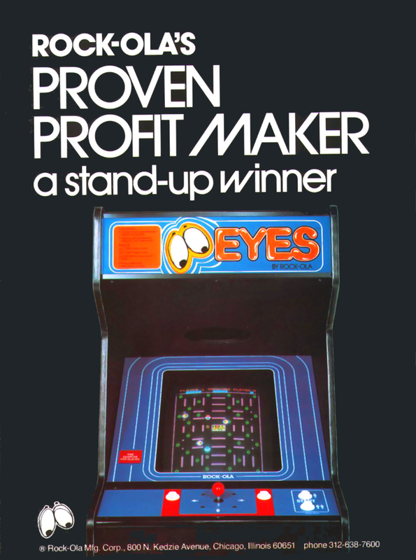 Eyes Coin Op Arcade cover artwork
