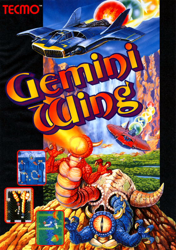 Gemini Wing Coin Op Arcade cover artwork