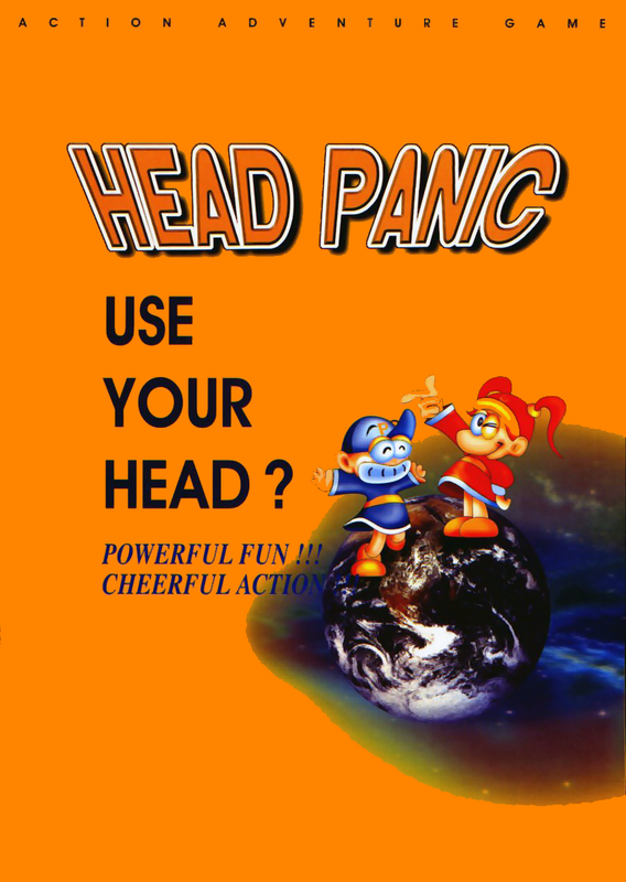 Head Panic Coin Op Arcade cover artwork