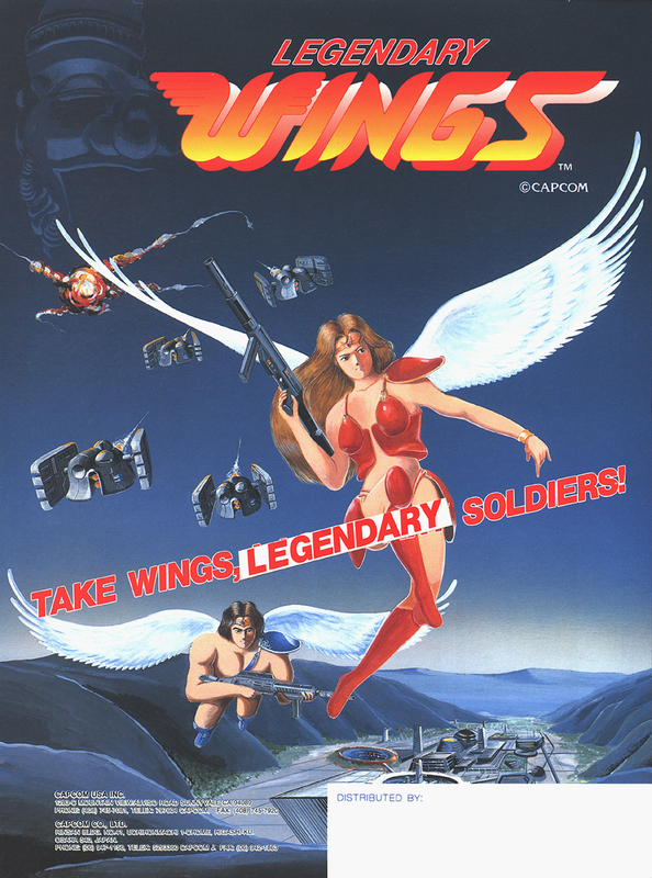 Legendary Wings Coin Op Arcade cover artwork