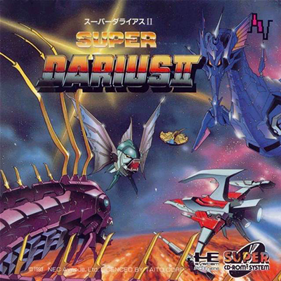Super Darius 2 NEC PC Engine CD cover artwork