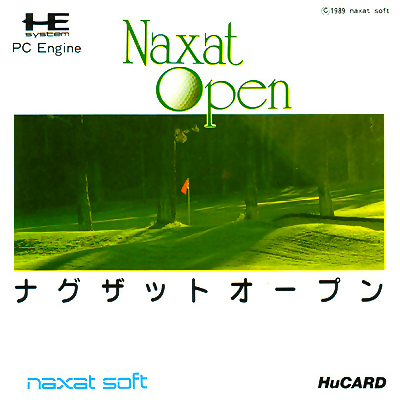 Naxat Open NEC PC Engine cover artwork