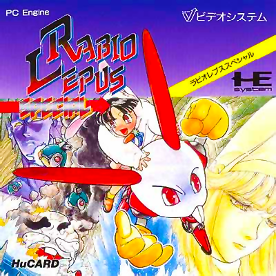 Rabio Lepus Special NEC PC Engine cover artwork