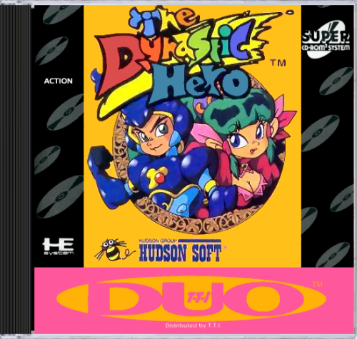 Dynastic Hero, The NEC TurboGrafx 16 CD cover artwork