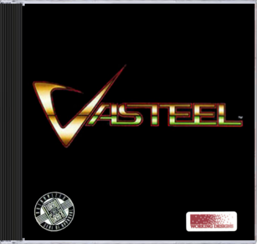 Vasteel NEC TurboGrafx 16 CD cover artwork