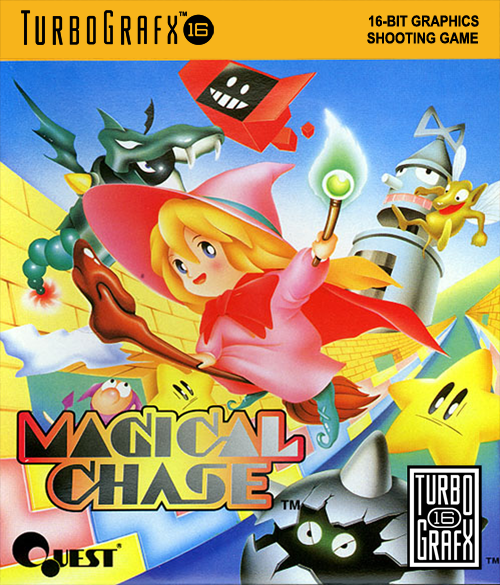 Magical Chase NEC TurboGrafx 16 cover artwork