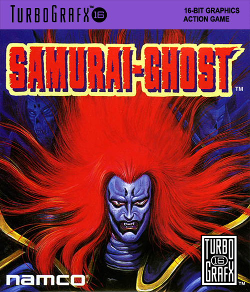 Samurai-Ghost NEC TurboGrafx 16 cover artwork
