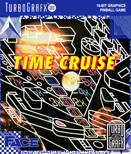 Time Cruise NEC TurboGrafx 16 cover artwork