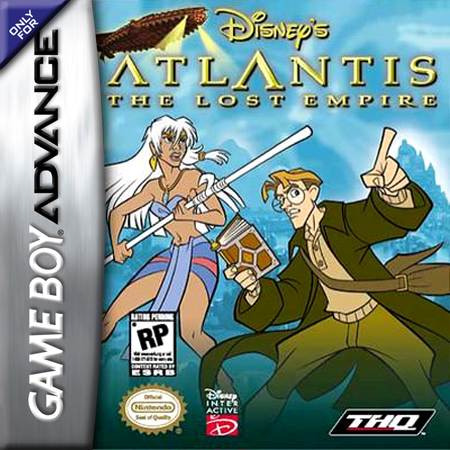 Atlantis - The Lost Empire Nintendo Game Boy Advance cover artwork
