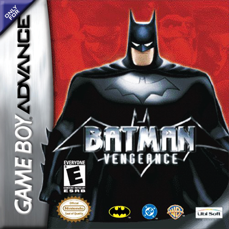 Batman - Vengeance Nintendo Game Boy Advance cover artwork