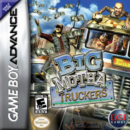 Big Mutha Truckers Nintendo Game Boy Advance cover artwork