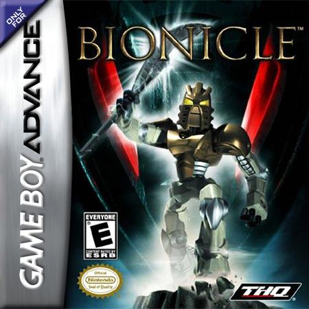 Bionicle Nintendo Game Boy Advance cover artwork