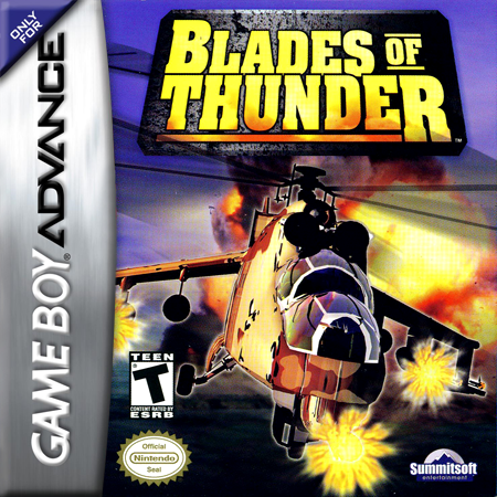 Blades of Thunder Nintendo Game Boy Advance cover artwork
