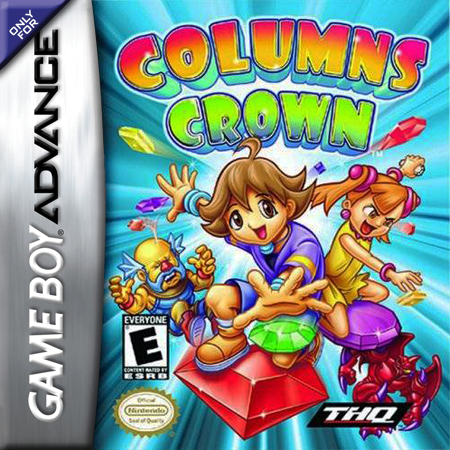 Columns Crown Nintendo Game Boy Advance cover artwork