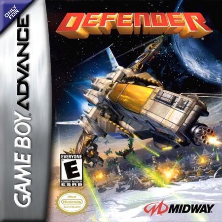 Defender Nintendo Game Boy Advance cover artwork