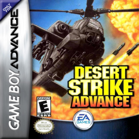 Desert Strike Advance Nintendo Game Boy Advance cover artwork