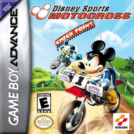 Disney Sports - Motocross Nintendo Game Boy Advance cover artwork