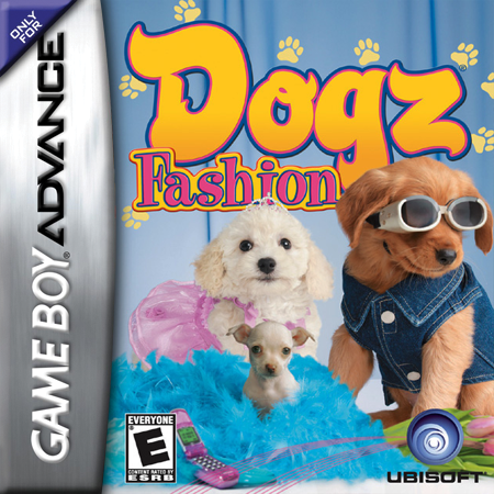 Dogz - Fashion Nintendo Game Boy Advance cover artwork