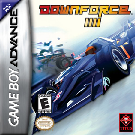 Downforce Nintendo Game Boy Advance cover artwork