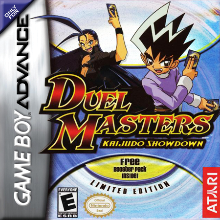 Duel Masters - Kaijudo Showdown Nintendo Game Boy Advance cover artwork