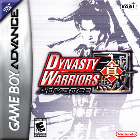 Dynasty Warriors Advance Nintendo Game Boy Advance cover artwork