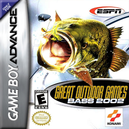 ESPN Great Outdoor Games - Bass 2002 Nintendo Game Boy Advance cover artwork