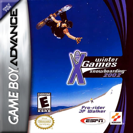 ESPN Winter X-Games Snowboarding 2002 Nintendo Game Boy Advance cover artwork