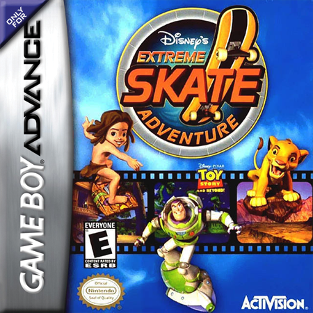 Extreme Skate Adventure Nintendo Game Boy Advance cover artwork