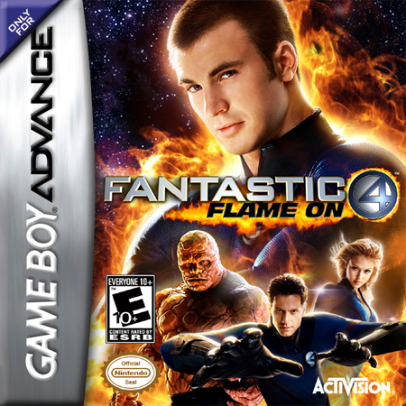 Fantastic 4 - Flame On Nintendo Game Boy Advance cover artwork