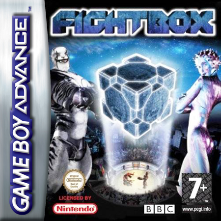 FightBox Nintendo Game Boy Advance cover artwork