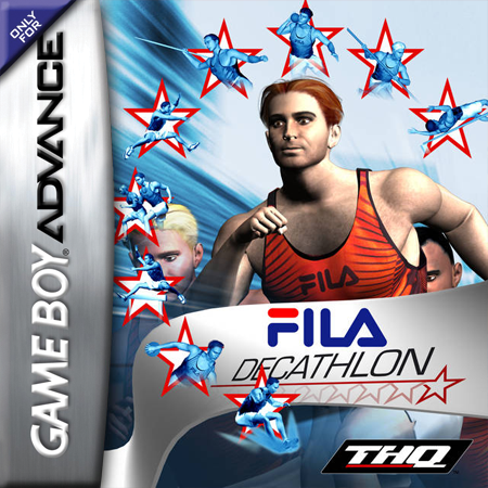 FILA Decathlon Nintendo Game Boy Advance cover artwork