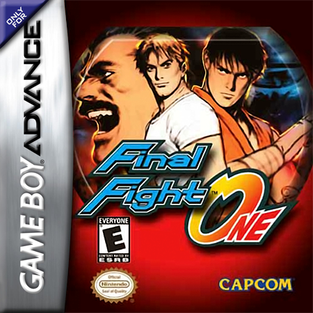 Final Fight One Nintendo Game Boy Advance cover artwork