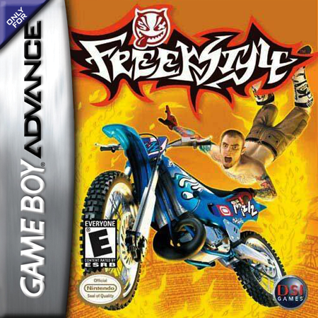 Freekstyle Nintendo Game Boy Advance cover artwork