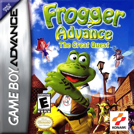 Frogger Advance - The Great Quest Nintendo Game Boy Advance cover artwork
