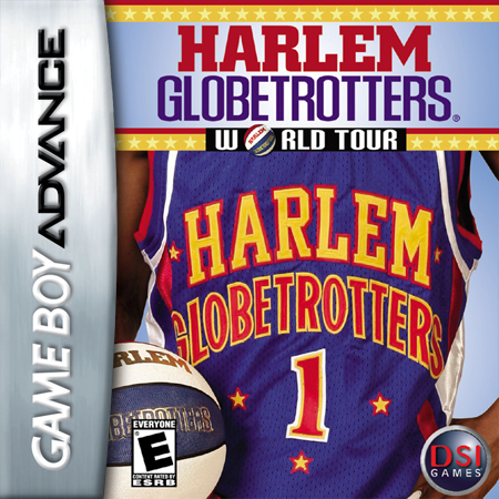 Harlem Globetrotters - World Tour Nintendo Game Boy Advance cover artwork
