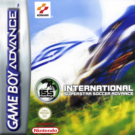 International Superstar Soccer Advance Nintendo Game Boy Advance cover artwork