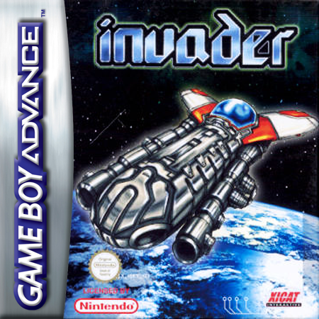 Invader Nintendo Game Boy Advance cover artwork