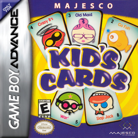 Kid's Cards Nintendo Game Boy Advance cover artwork