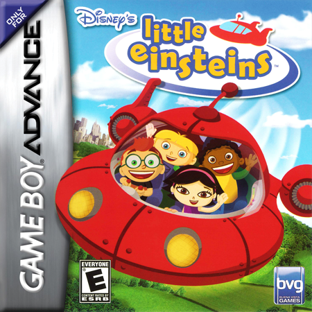 Little Einsteins Nintendo Game Boy Advance cover artwork