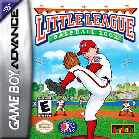 Little League Baseball 2002 Nintendo Game Boy Advance cover artwork